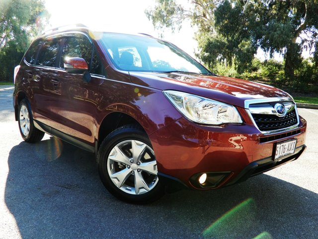 Used Subaru Forester S4 MY13 2.5i-L Lineartronic AWD, 2013 Subaru Forester S4 MY13 2.5i-L Lineartronic AWD Venetian Red 6 Speed Constant Variable Wagon
