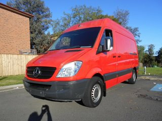 2012 Mercedes-Benz Sprinter 906 MY12 313 CDI MWB Red 7 Speed Automatic Van.