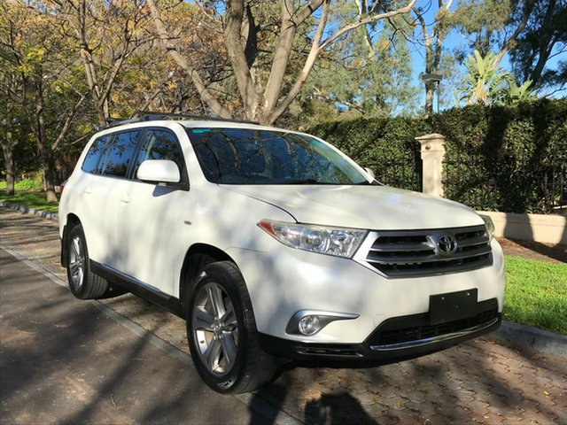 Used Toyota Kluger GSU45R MY12 KX-S AWD, 2012 Toyota Kluger GSU45R MY12 KX-S AWD White 5 Speed Sports Automatic Wagon