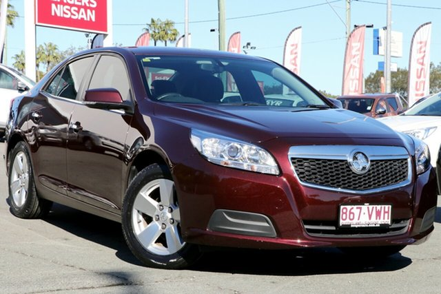 Used Holden Malibu V300 MY15 CD, 2015 Holden Malibu V300 MY15 CD Maroon 6 Speed Sports Automatic Sedan