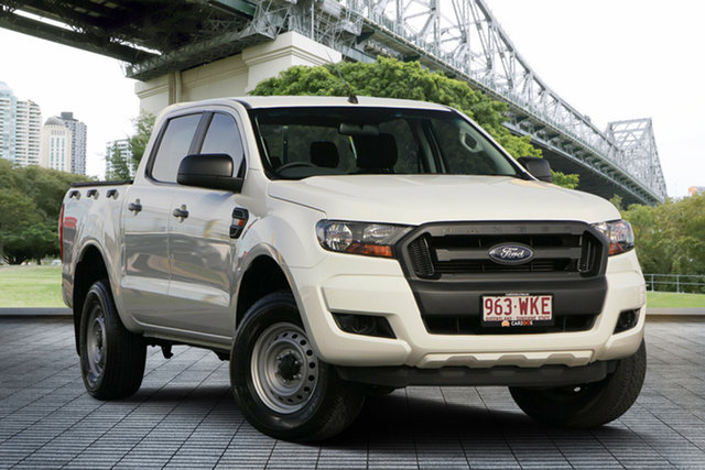 Used Ford Ranger PX MkII XL Super Cab 4x2 Hi-Rider, 2016 Ford Ranger PX MkII XL Super Cab 4x2 Hi-Rider White 6 Speed Sports Automatic Cab Chassis