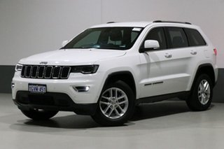 2017 Jeep Grand Cherokee WK MY17 Laredo (4x4) White 8 Speed Automatic Wagon.