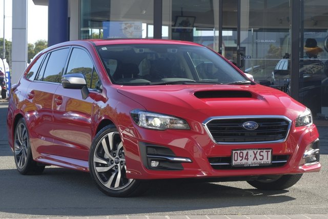 Demo Subaru Levorg V1 MY18 1.6 GT CVT AWD Premium, 2017 Subaru Levorg V1 MY18 1.6 GT CVT AWD Premium Pure Red 6 Speed Constant Variable Wagon