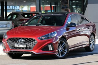 2018 Hyundai Sonata LF4 MY18 Premium Valentine Red 8 Speed Automatic Sedan.
