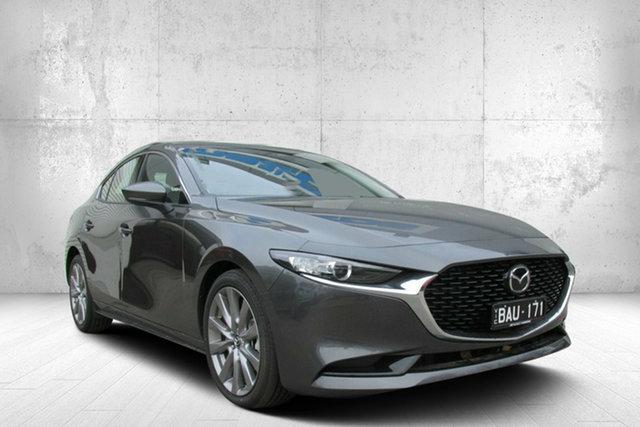 Demo Mazda 3 BP2SLA G25 SKYACTIV-Drive GT, 2019 Mazda 3 BP2SLA G25 SKYACTIV-Drive GT Grey 6 Speed Sports Automatic Sedan