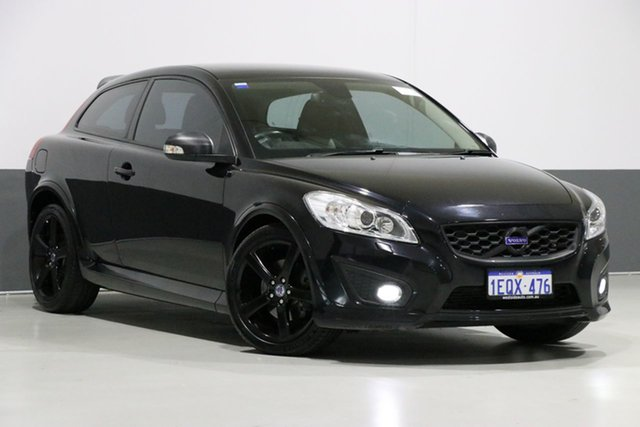 Used Volvo C30 MY12 T5 R-Design, 2012 Volvo C30 MY12 T5 R-Design Black 5 Speed Auto Geartronic Hatchback