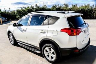 2012 Toyota RAV4 ALA49R Cruiser AWD White, Crystal Pearl 6 Speed Sports Automatic Wagon.