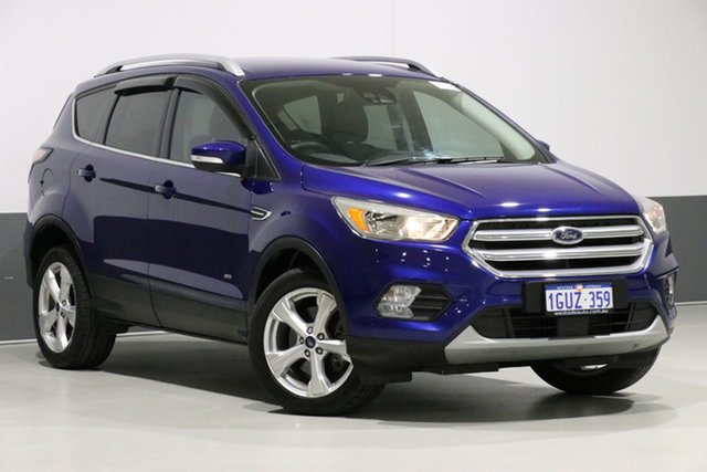 Used Ford Escape ZG MY18 Trend (AWD), 2017 Ford Escape ZG MY18 Trend (AWD) Blue 6 Speed Automatic Wagon
