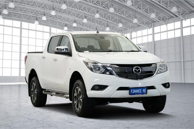 Used Mazda BT-50 UR0YG1 XTR, 2016 Mazda BT-50 UR0YG1 XTR White 6 Speed Sports Automatic Utility