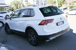 2019 Volkswagen Tiguan 5N MY19.5 162TSI DSG 4MOTION Highline Pure White 7 Speed.
