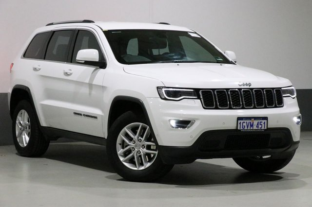 Used Jeep Grand Cherokee WK MY17 Laredo (4x4), 2017 Jeep Grand Cherokee WK MY17 Laredo (4x4) White 8 Speed Automatic Wagon
