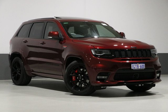 Used Jeep Grand Cherokee WK MY19 SRT (4x4), 2019 Jeep Grand Cherokee WK MY19 SRT (4x4) Red 8 Speed Automatic Wagon
