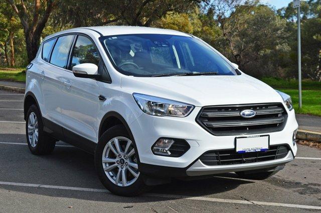 Used Ford Escape ZG 2018.75MY Ambiente 2WD, 2018 Ford Escape ZG 2018.75MY Ambiente 2WD Frozen White 6 Speed Sports Automatic Wagon