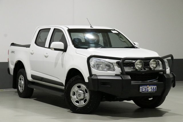 Used Holden Colorado RG MY16 LS (4x4), 2015 Holden Colorado RG MY16 LS (4x4) White 6 Speed Automatic Crew Cab Pickup