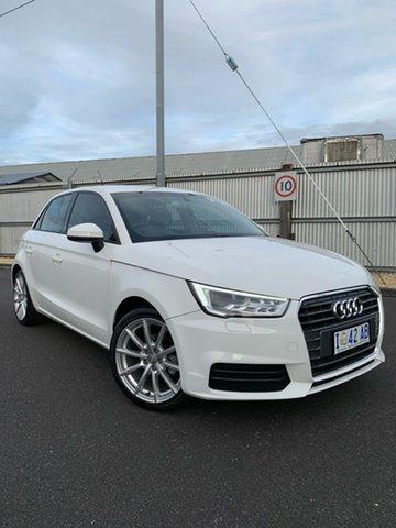 Used Audi A1 8X MY15 Sportback, 2015 Audi A1 8X MY15 Sportback White 5 Speed Manual Hatchback