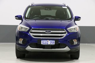 2017 Ford Escape ZG MY18 Trend (AWD) Blue 6 Speed Automatic Wagon.