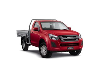 2018 Isuzu D-MAX MY18 SX Magnetic Red 6 Speed Sports Automatic Cab Chassis.
