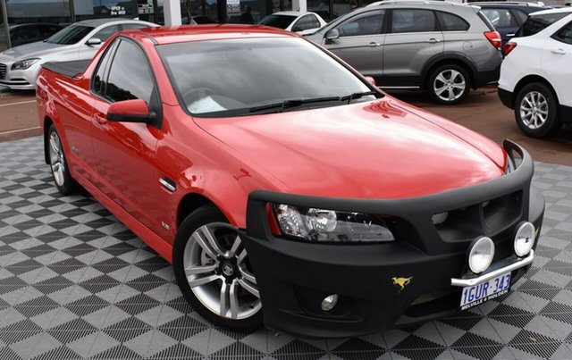 Used Holden Ute VE SS, 2007 Holden Ute VE SS Red/Black 6 Speed Sports Automatic Utility