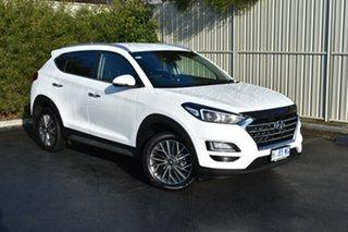 2018 Hyundai Tucson TL2 MY18 Elite D-CT AWD Pure White 7 Speed Sports Automatic Dual Clutch Wagon.