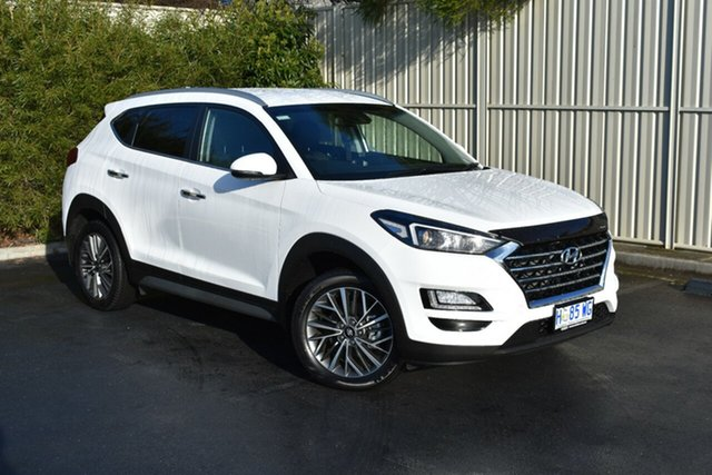 Used Hyundai Tucson TL2 MY18 Elite D-CT AWD, 2018 Hyundai Tucson TL2 MY18 Elite D-CT AWD Pure White 7 Speed Sports Automatic Dual Clutch Wagon