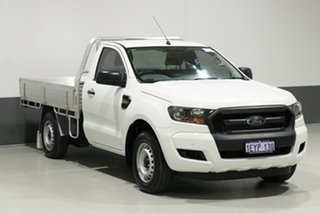 2016 Ford Ranger PX MkII XL 2.2 (4x2) White 6 Speed Manual Cab Chassis