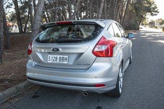 2014 Ford Focus LW MkII Titanium PwrShift Silver 6 Speed Sports Automatic Dual Clutch Hatchback