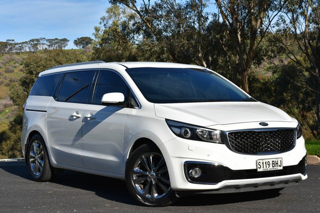 Used Kia Carnival YP MY15 Platinum, 2015 Kia Carnival YP MY15 Platinum White 6 Speed Sports Automatic Wagon