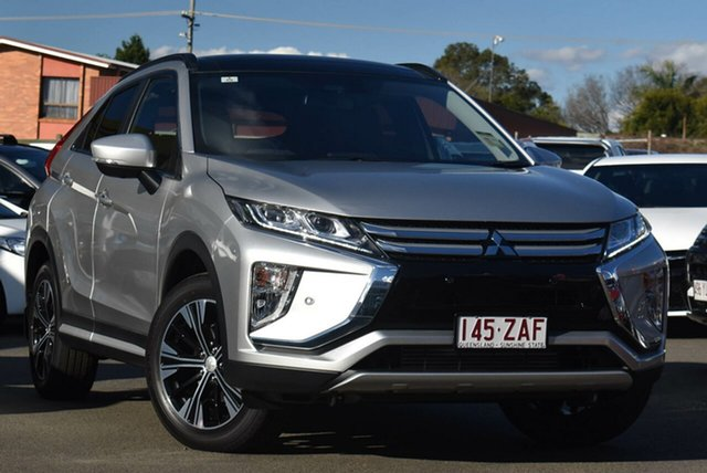 Demo Mitsubishi Eclipse Cross YA MY19 Exceed 2WD, 2019 Mitsubishi Eclipse Cross YA MY19 Exceed 2WD Sterling Silver 8 Speed Constant Variable Wagon