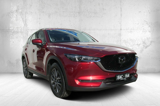 Demo Mazda CX-5 KF4W2A GT SKYACTIV-Drive i-ACTIV AWD, 2019 Mazda CX-5 KF4W2A GT SKYACTIV-Drive i-ACTIV AWD Red 6 Speed Sports Automatic Wagon