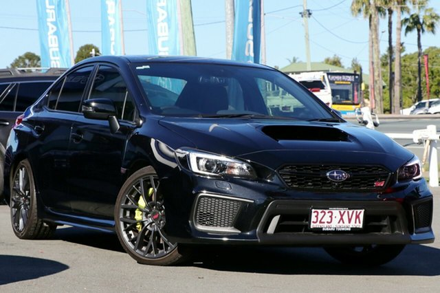 Used Subaru WRX V1 MY18 STI AWD spec.R, 2017 Subaru WRX V1 MY18 STI AWD spec.R Black 6 Speed Manual Sedan