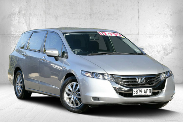Used Honda Odyssey 4th Gen MY12 , 2012 Honda Odyssey 4th Gen MY12 Alabaster Silver 5 Speed Sports Automatic Wagon