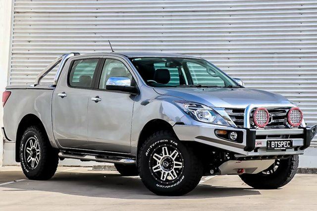 Demo Mazda BT-50 UR0YG1 GT, 2018 Mazda BT-50 UR0YG1 GT Aluminium 6 Speed Sports Automatic Utility