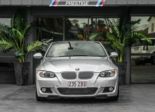 2009 BMW 335i E93 MY09.5 D-CT Silver 7 Speed Sports Automatic Dual Clutch Convertible.