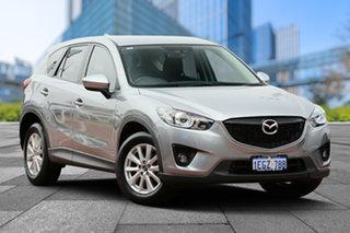 2013 Mazda CX-5 KE1031 MY13 Maxx SKYACTIV-Drive AWD Sport Silver 6 Speed Sports Automatic Wagon.