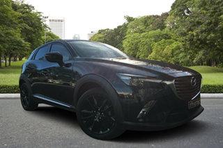 2016 Mazda CX-3 DK2W7A Akari SKYACTIV-Drive Black 6 Speed Sports Automatic Wagon.