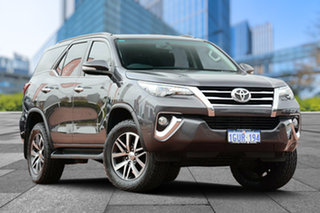 2015 Toyota Fortuner GUN156R Crusade Brown 6 Speed Automatic Wagon.