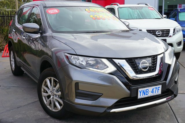Demo Nissan X-Trail T32 Series II TS X-tronic 4WD, 2018 Nissan X-Trail T32 Series II TS X-tronic 4WD Gun Metallic 7 Speed Constant Variable Wagon