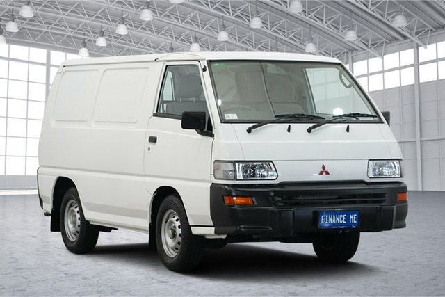 Used Mitsubishi Express SJ MY12 SWB, 2012 Mitsubishi Express SJ MY12 SWB White 5 Speed Manual Van