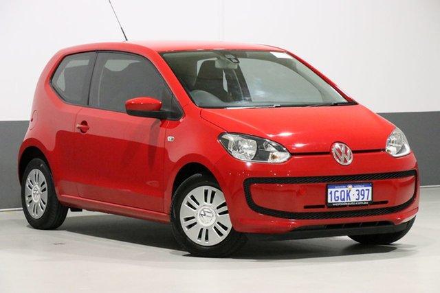 Used Volkswagen UP! AA , 2012 Volkswagen UP! AA Red 5 Speed Manual Hatchback