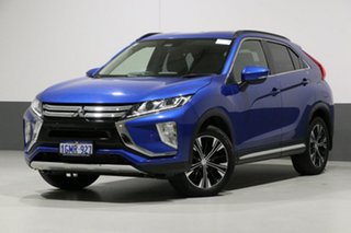 2018 Mitsubishi Eclipse Cross YA LS (2WD) Lightning Blue Continuous Variable Wagon.