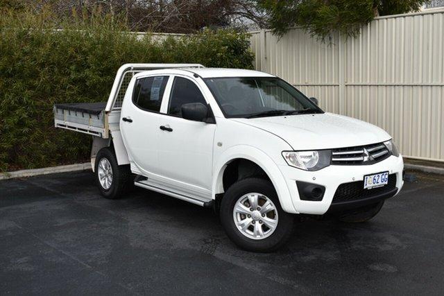 Used Mitsubishi Triton MN MY15 GLX Double Cab, 2014 Mitsubishi Triton MN MY15 GLX Double Cab White 4 Speed Sports Automatic Utility