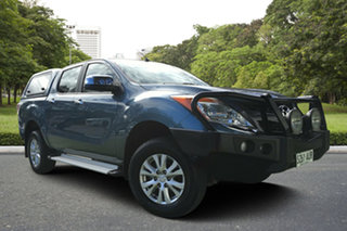 2012 Mazda BT-50 UP0YF1 GT Blue 6 Speed Sports Automatic Utility.