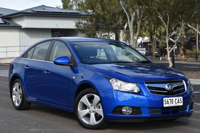 Used Holden Cruze JG CDX, 2010 Holden Cruze JG CDX Blue 6 Speed Sports Automatic Sedan