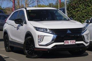 2018 Mitsubishi Eclipse Cross YA MY19 Black Edition 2WD Starlight 8 Speed Constant Variable Wagon.