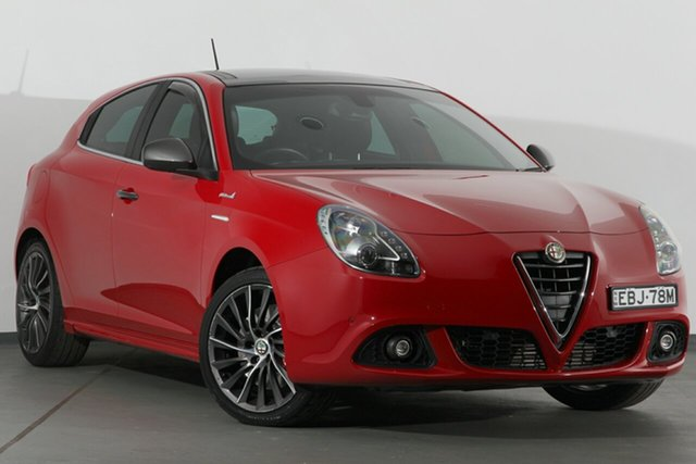 Used Alfa Romeo Giulietta Series 0 MY13 Distinctive TCT, 2014 Alfa Romeo Giulietta Series 0 MY13 Distinctive TCT Red 6 Speed Sports Automatic Dual Clutch