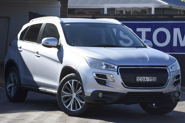 Used Peugeot 4008 MY12 Active 2WD, 2012 Peugeot 4008 MY12 Active 2WD Silver 6 Speed Constant Variable SUV