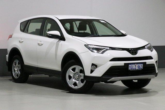 Used Toyota RAV4 ASA44R MY18 GX (4x4), 2018 Toyota RAV4 ASA44R MY18 GX (4x4) White 6 Speed Automatic Wagon