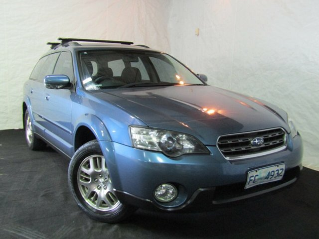 Used Subaru Outback B4A MY04 D/Range AWD, 2004 Subaru Outback B4A MY04 D/Range AWD Blue 5 Speed Manual Wagon