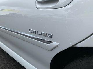 2003 Holden Calais VY White 4 Speed Automatic Sedan