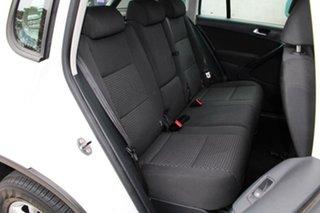 2009 Volkswagen Tiguan 5NC MY10 103 TDI White 6 Speed Tiptronic Wagon